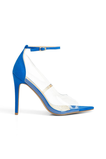 Walk Of Fame Heels (Blue)