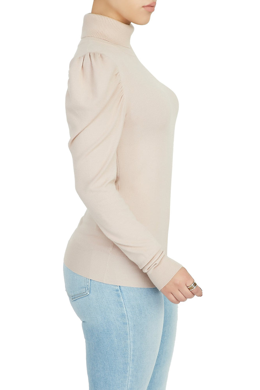 Puff Begone Knit Top (Pink)