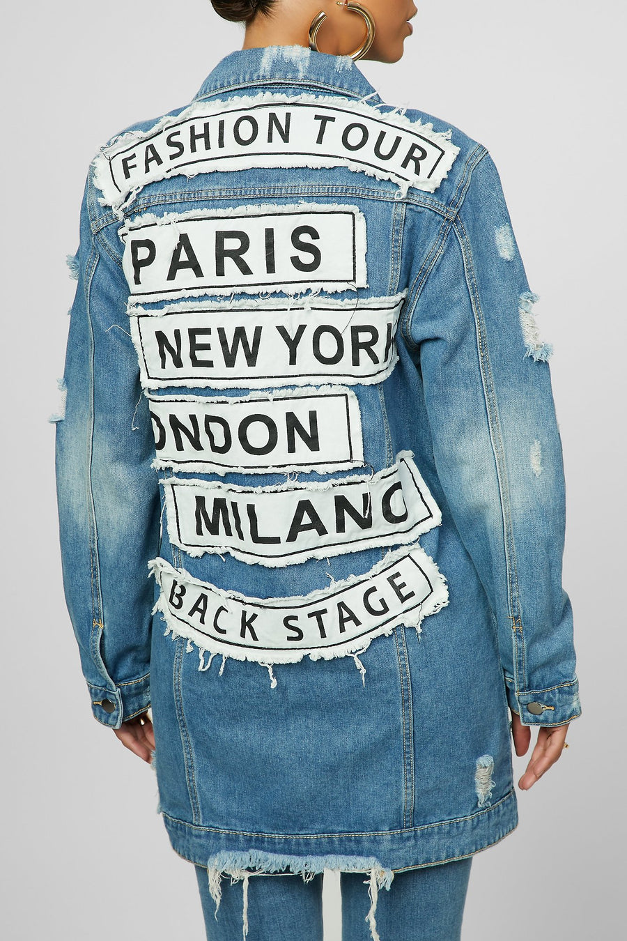 High Fashion Denim Jacket