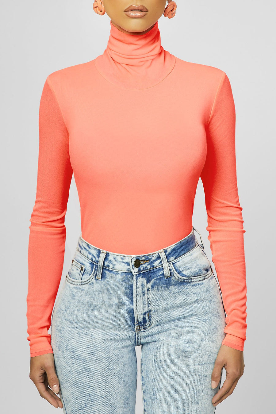 Neon Obsession Turtle Neck