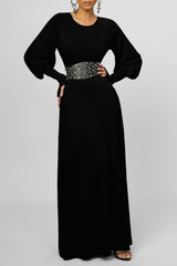 Always Sleek Maxi Dress - Black