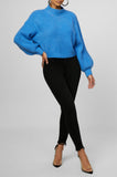 Next To Me Knit Sweater (Blue)