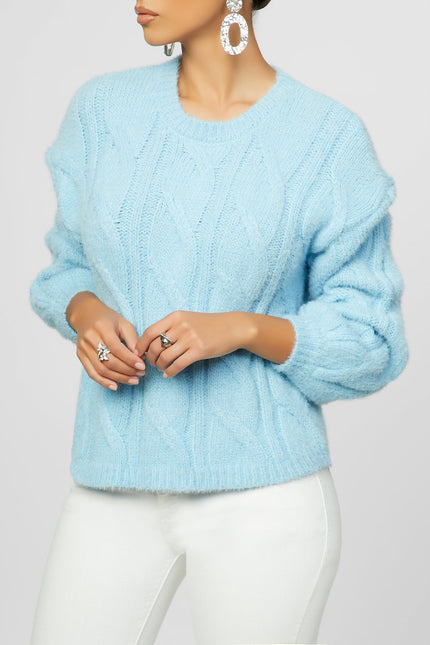 Knits Not An Issue Sweater (Soft Nude)
