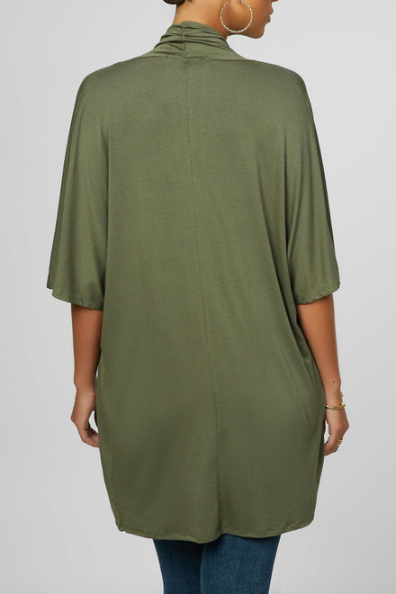Twist & Turn Top (Olive)