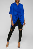 Twist & Turn Top (Royal Blue)