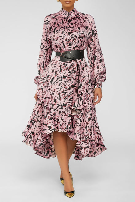 Keep It Moving Dress - Pink