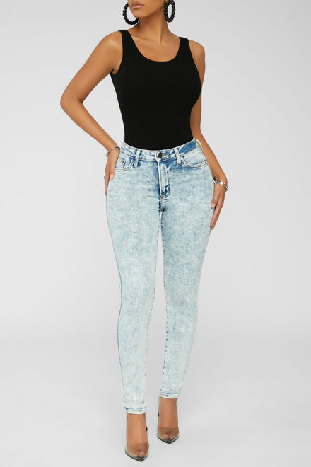 Acid Rain Jeans - Light Blue