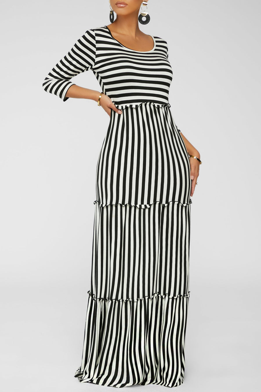 Noticeable Maxi Dress