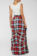 Damsel In Distress Skirt - Red [PRE-ORDER 1/29]