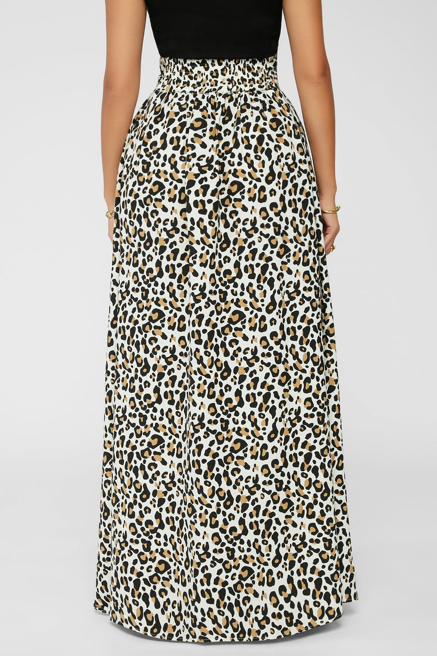 Pounce & Pose Maxi Skirt (Ivory) PRE-ORDER 6/26
