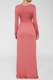 Where To Begin Maxi Dress - Rose