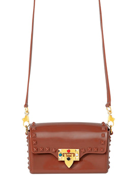 So Studded Jelly Mini Bag - Carmel
