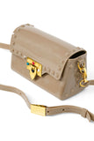 So Studded Jelly Mini Bag - Tan