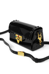 So Studded Jelly Mini Bag - Black