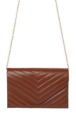 Quilty By Association Mini Bag - Brown