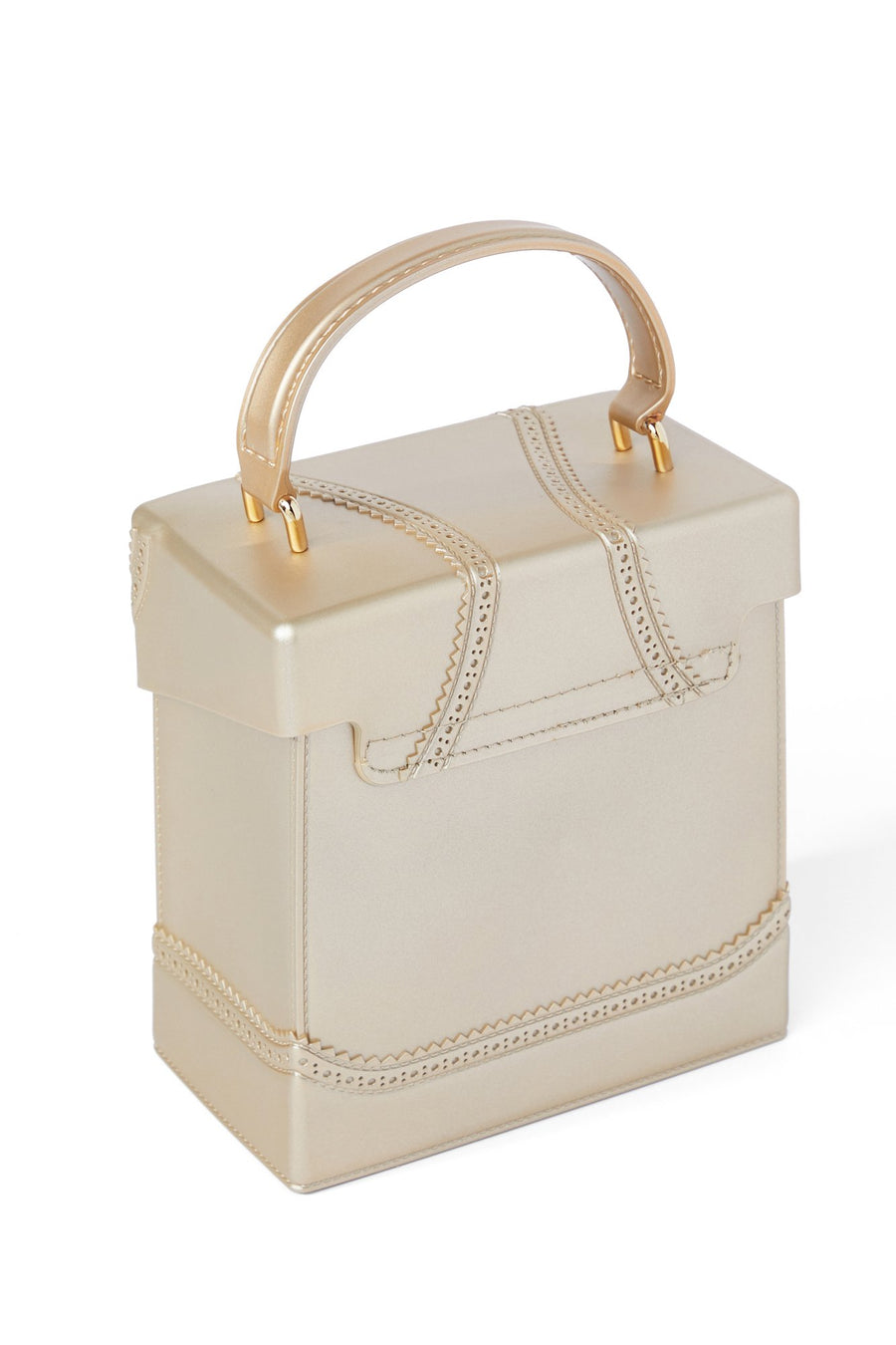 Outside The Box Bag - Gold