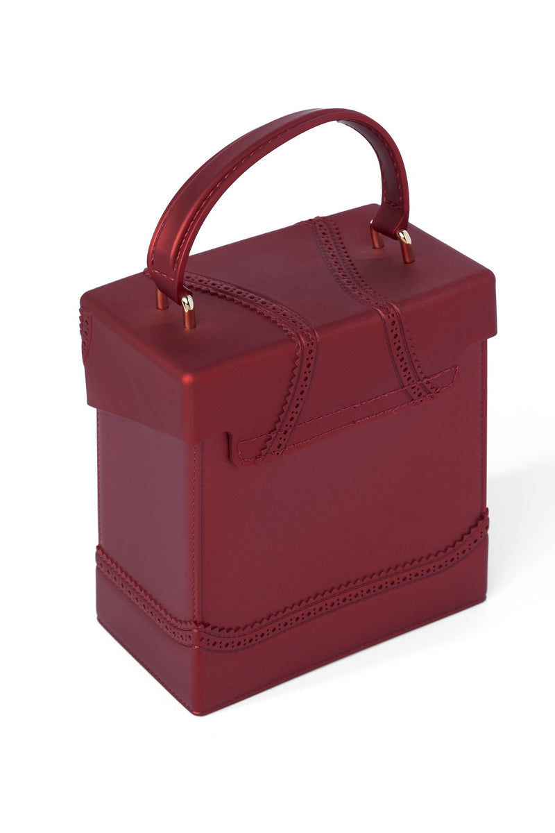 Outside The Box Bag - Deep Red