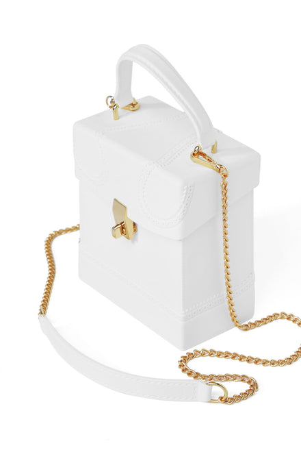 Outside Of The Box Bag (White)