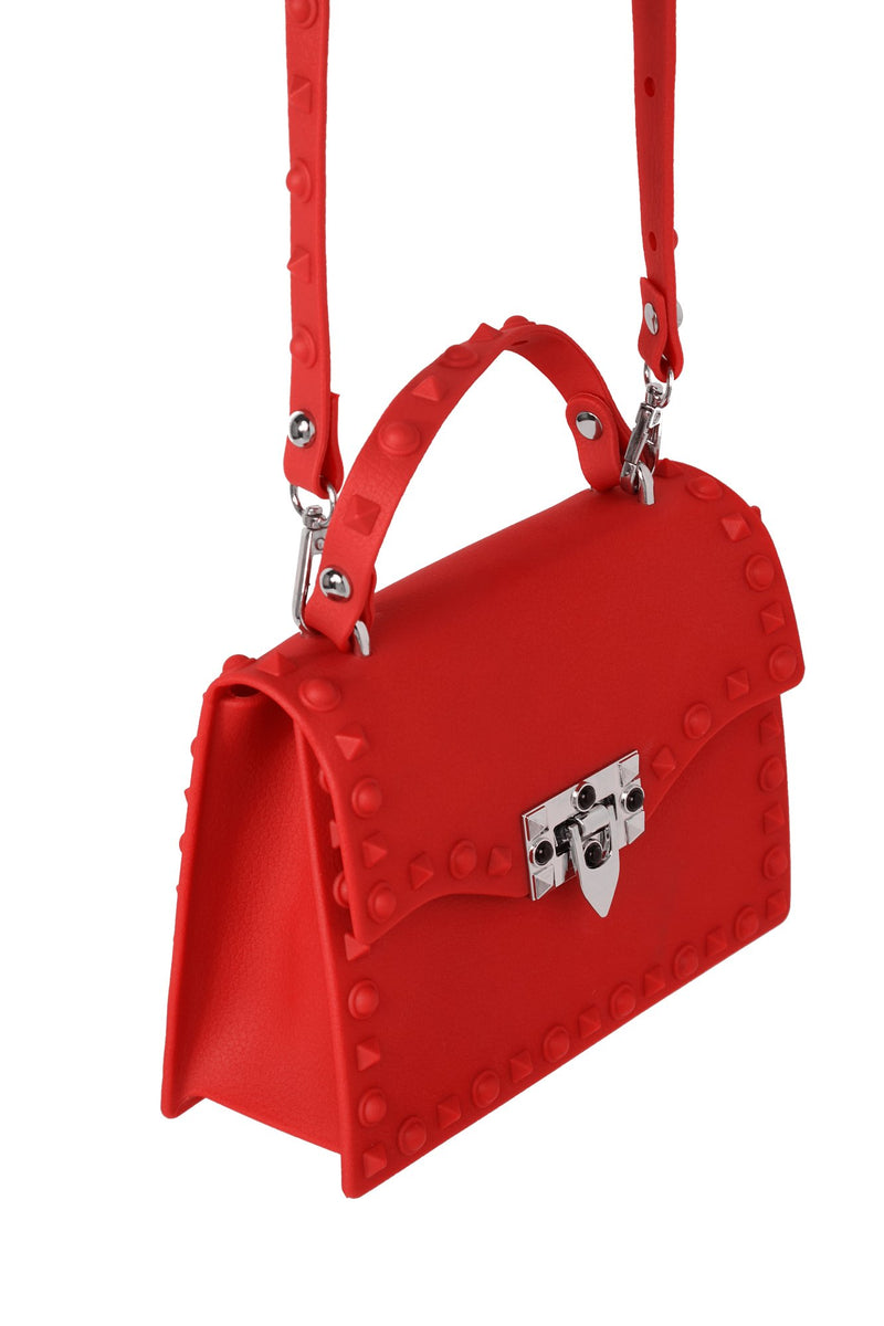 Slow And Studdy Mini Bag - Red