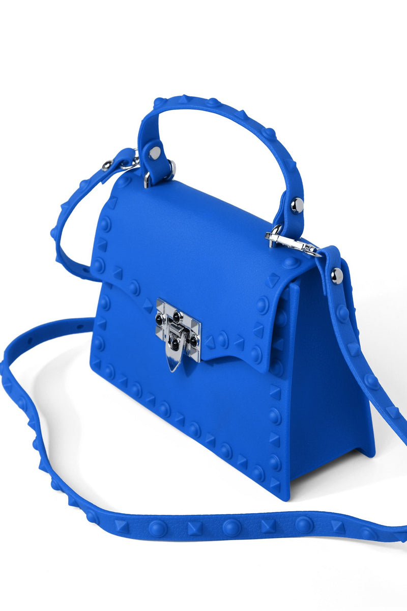 Slow And Studdy Mini Bag - Blue