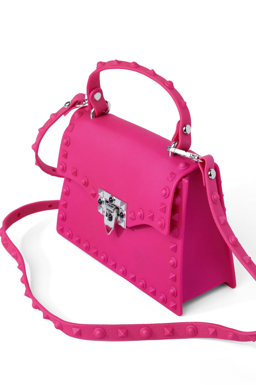 Slow And Studdy Mini Bag - Fuschia