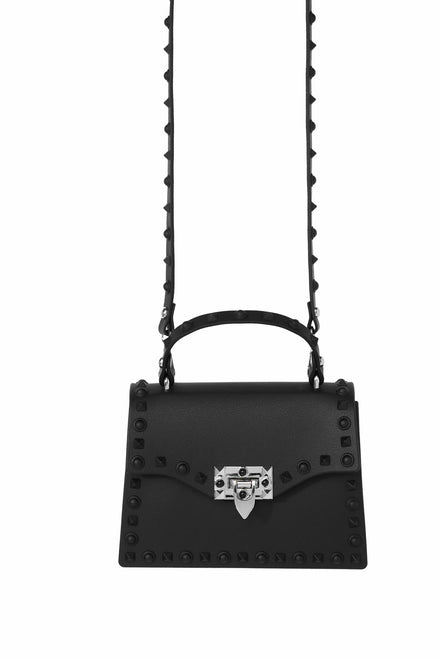 Slow And Studdy Mini Bag - Black