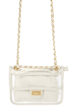 Seeing Things Clear Bag - Ivory