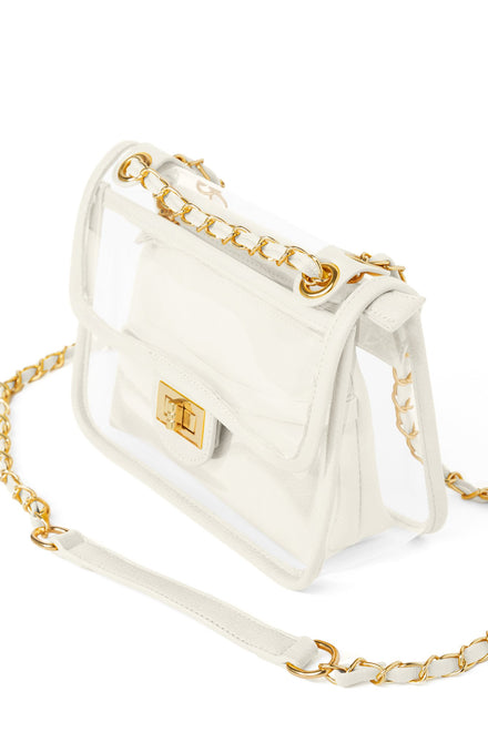 Seeing Things Clear Bag (Ivory)
