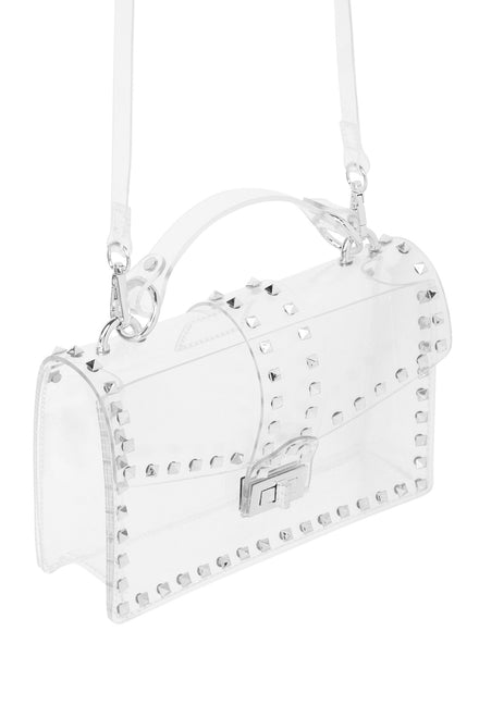 See Right Through You Bag (Silver)