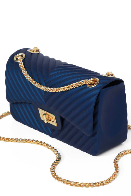 Extra Lined Up Bag - Navy