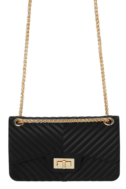 Extra Lined Up Bag - Black