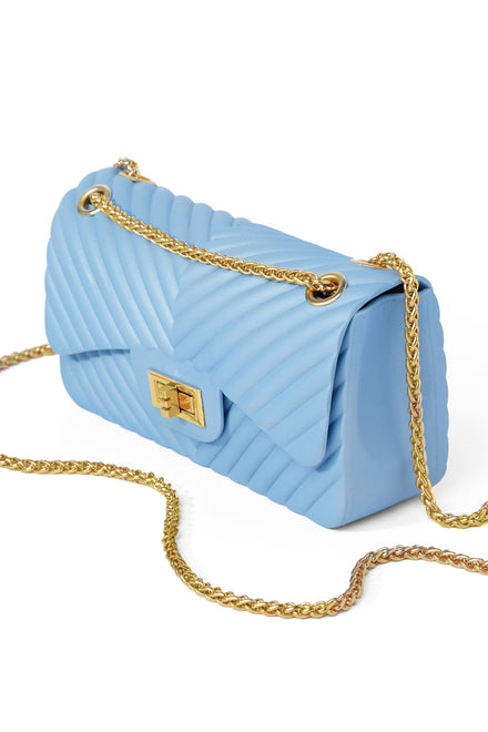 Quilts Fine By Me Bag - Baby Blue