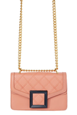 Buckle Up Mini Bag - Peach