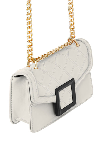 Buckle Up Mini Bag - Ivory