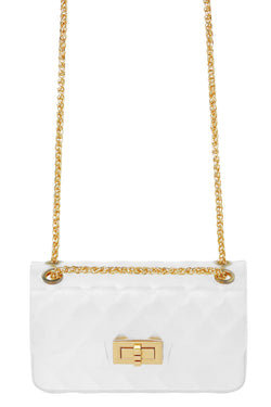 All Lined Up Mini Bag - Clear