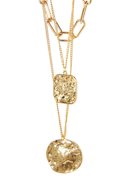 Layer It On Me Necklace - Gold