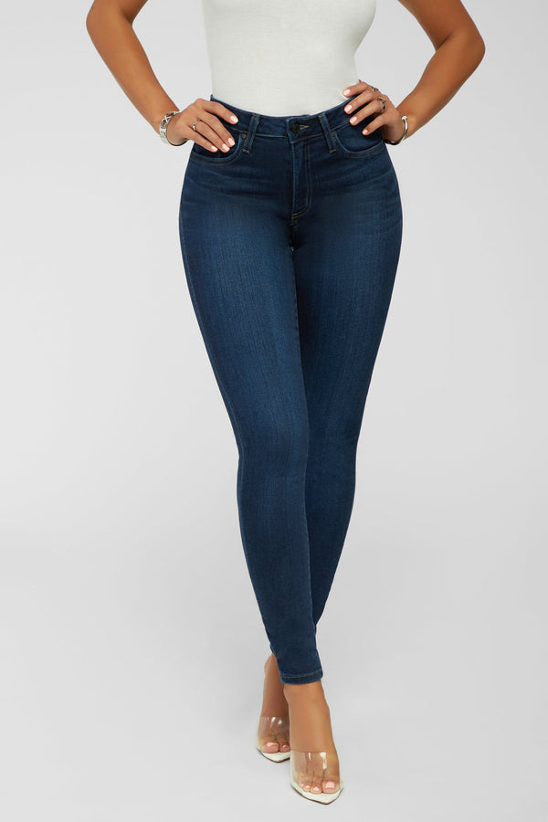 Secret Thought Jeans -  Dark Denim