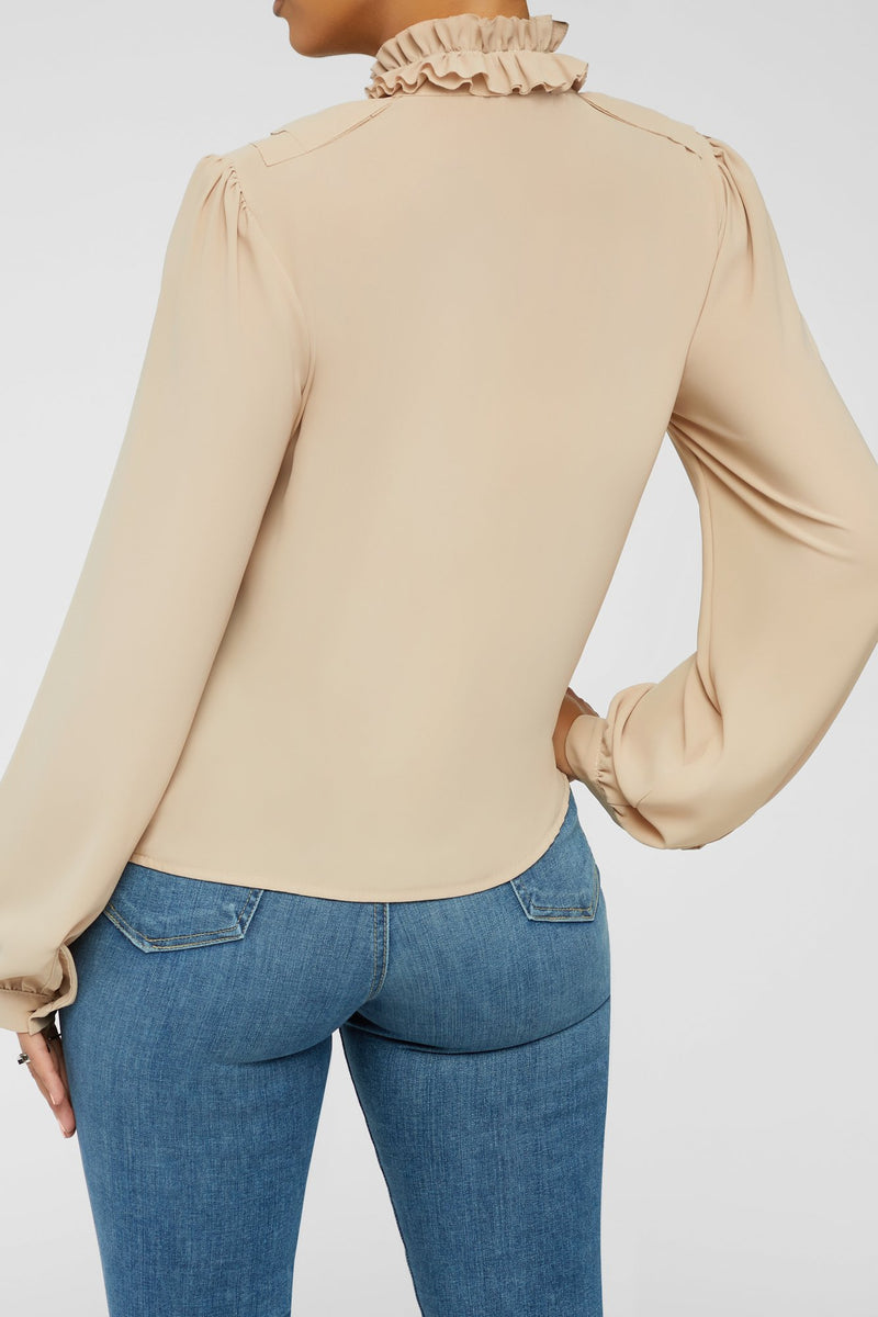Layers Of Love Top - Beige