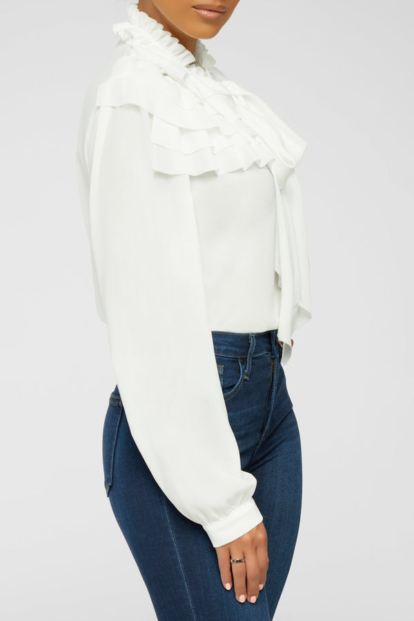 Layers Of Love Top - White