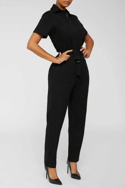 All Classic Jumpsuit - Black