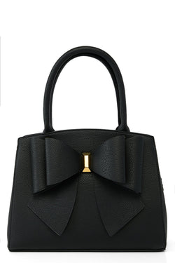 Bow Time Bag - Black