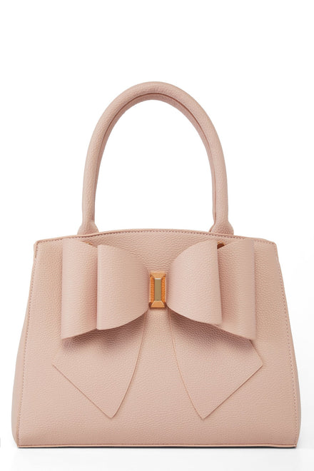 Bow Time Bag - Pink
