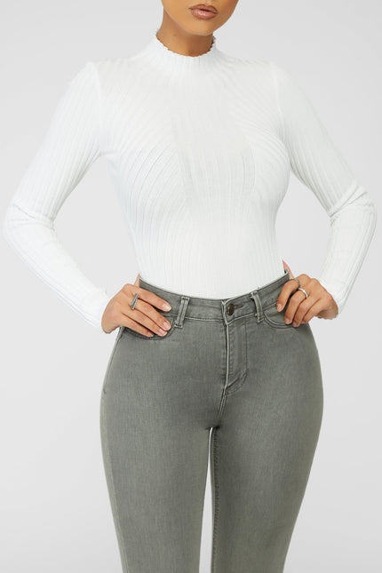 Adore You Bodysuit - White