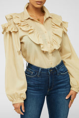 Such A Queen Top - Taupe