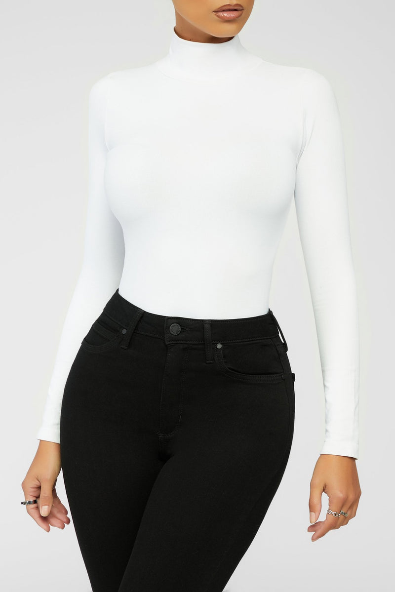 Stay Smooth Bodysuit - White