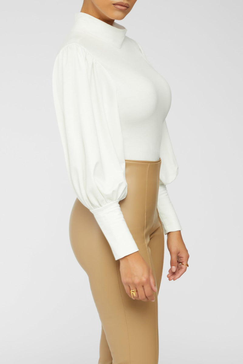 Pump The Brakes Bodysuit - White