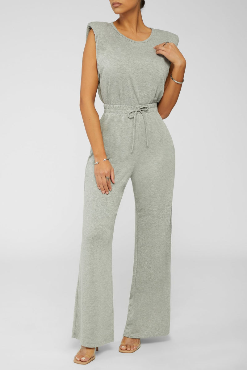 Calm The Mood Lounge Pants - Heather Grey