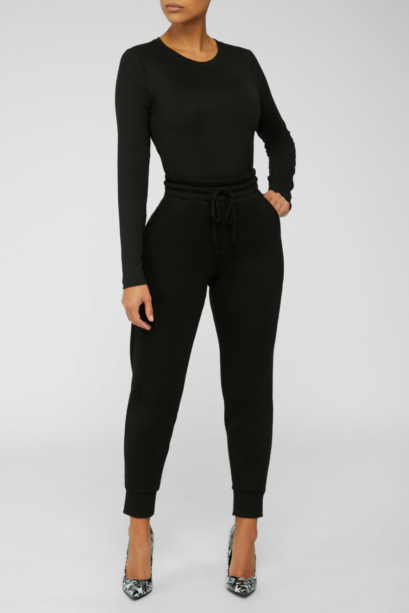 On The Go Joggers - Black