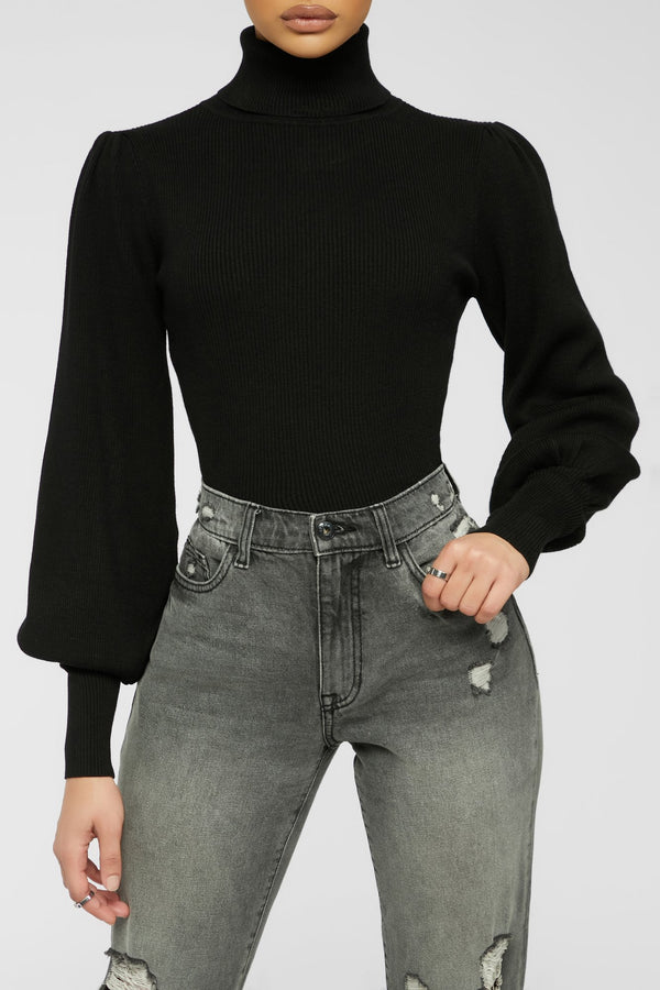 Love The Vibe Top - Black