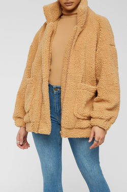 Warmer Days Coat - Tan